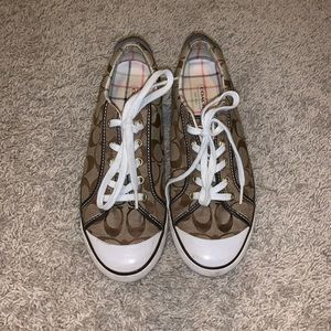 Coach sneakers. Size 9.5.